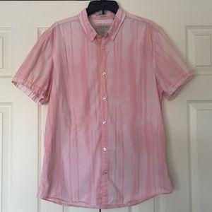 GUESS Shirt men's XL Slim Fit Dillon button down